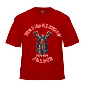 triko BRM, červená